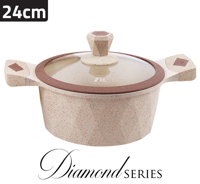 Diamond Single Casserole